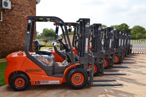 The New LG35DT Forklifts